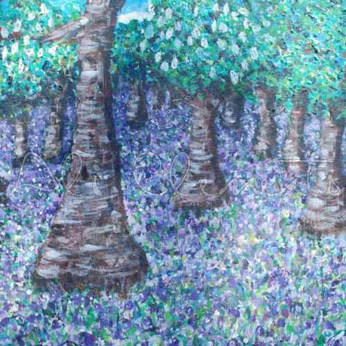 Bluebell Woods - Ali's Art Designs