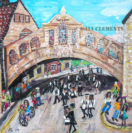 Hertford Bridge - Ali's Art Designs
