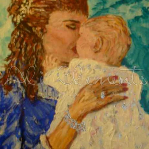 Christening Kisses - Ali's Art Designs