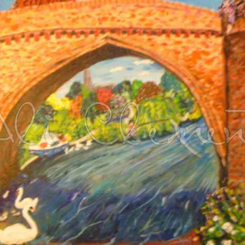 Clifton Hampden Bridge - Ali's Art Designs