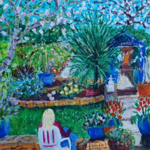 Garden without willow - Ali's Art Designs