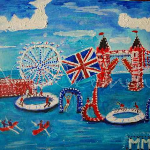 Olympic London 2012- Ali's Art Designs