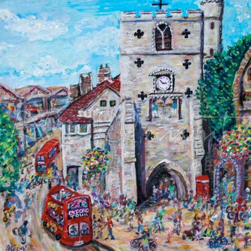 Carfax, Oxford - Ali's Art Designs