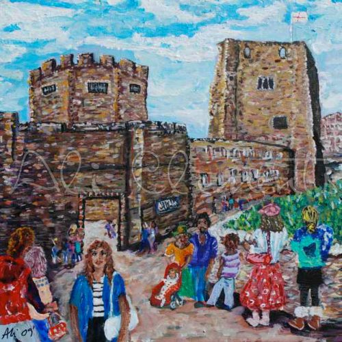 Oxford Castle - Ali's Art Designs