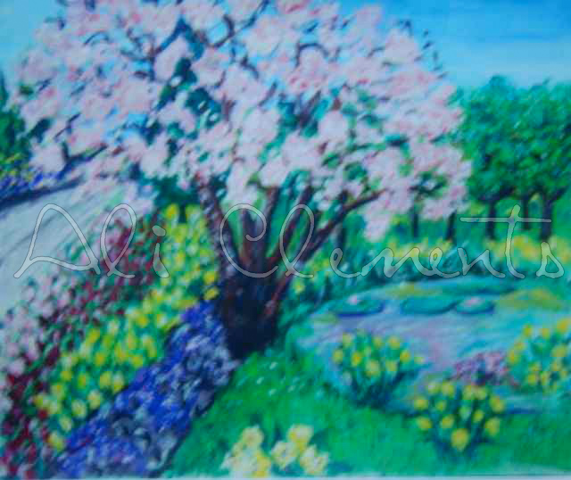 Cherry Tree- Ali's Art Designs