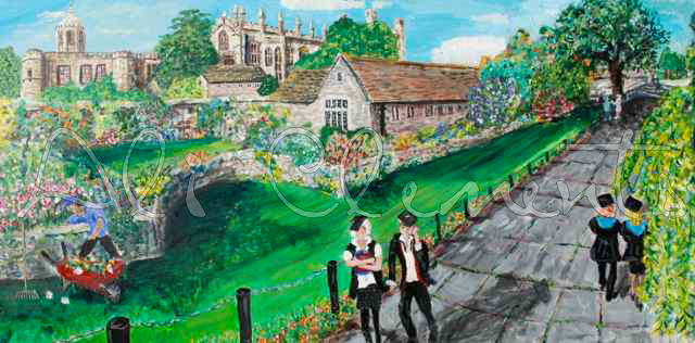 Christ Church from Broad Walk - Ali's Art Designs