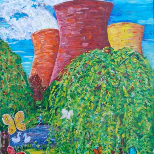 Didcot power station - Ali's Art Designs