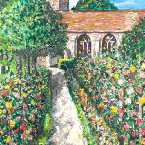 Dorchester Abbey - Ali's Art Designs