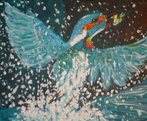Kingfisher - Ali's Art Designs