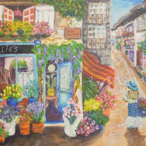 Lillies Flower Shop - Ali's Art Designs