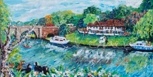 Shillingford Bridge - Ali's Art Designs