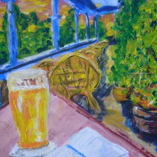 Sunset Beer - Perth - Ali's Art Designs