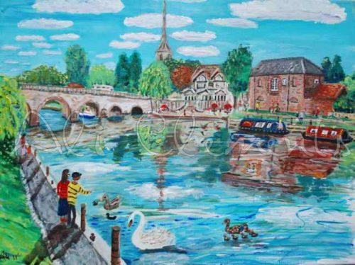 Wallingford Bridge - Ali's Art Designs