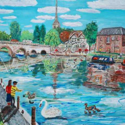 Wallingford Bridge - Ali's Art Designs
