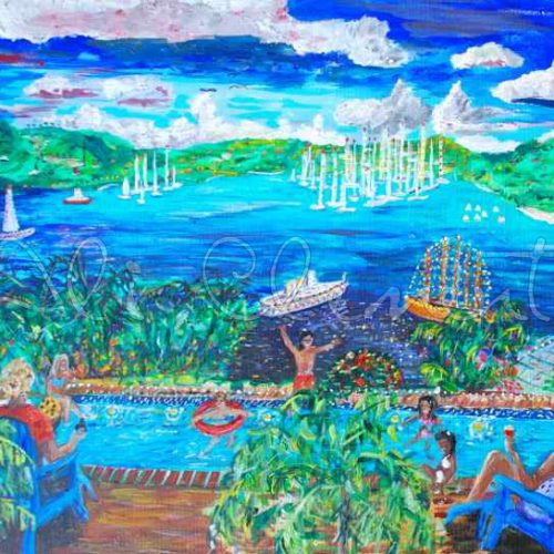 English Harbour, Antigua Ali's Art Designs