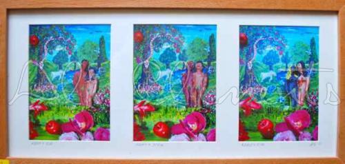 Adam & Steve - Ali's Art Designs