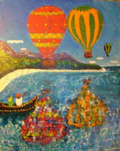 Caribbean Balloons - Ali's Art Designs