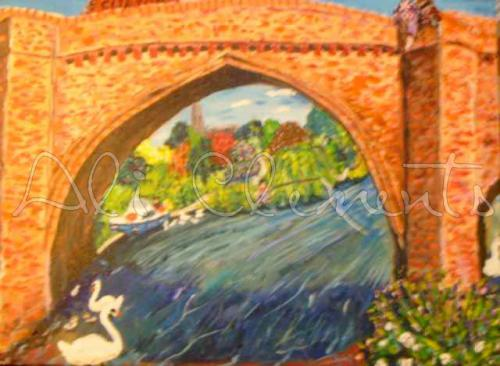 Clifton H Bridge - Ali's Art Designs